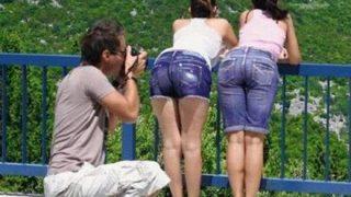 【画像】尻でかい女がシコいとかいう謎風潮…デカ尻プリケツが好きなるスレ