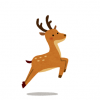 【画像】明らかに合成っぽい目をした鹿が見つかるww