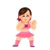 【画像】最近の女子プロレスラーって可愛い子が多いんだな