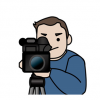 【GJ】有能カメラマンさん 胸ユッサユッサ走るお姉さんをニュース映像で捉えてしまう