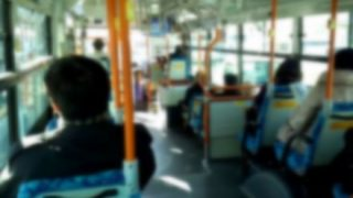 【朗報】バス車内にエロエロな女さんwwwww