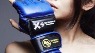 【画像】この美少女さん格闘家らしいんやが 言う程か……?
