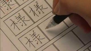 26年生きてきて「様」という漢字の書き方を間違えていた事に今気がついた・・・