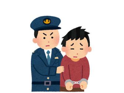 【衝撃】とんでもなく目がデカい男が逮捕される →画像