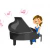 このピアノを弾く女の人 胸にしか目がいかないんだがwwwwwww