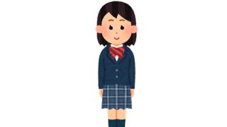 【悲報】女子高生さん、教室でいきなり脱ぎ出す
