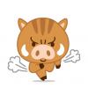 【猪突猛進】イノシシに思いっきりタックルされるサラリーマンが撮影される ⇒GIFと動画