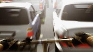 【動画あり】スクランブル交差点でタクシーと自転車がバトル