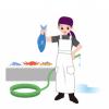 【動画像】市場で働く『魚売りの台湾美女』がネットで大拡散
