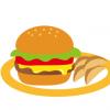 【画像】真面目にこういうハンバーガーの食べ方を教えて