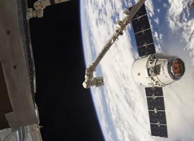 【感動】宇宙ステーション(ISS)から撮影したロケット発射がハリウッド超え