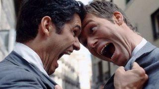 【優しい世界】ニューヨークで世界いち平和でオモシロい喧嘩が勃発 →GIfと動画