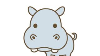 【朗報】カバの赤ちゃん、メチャクチャかわいい♡