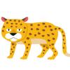【デカい猫】チーター弱すぎワロタwwwww