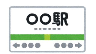【旭橋】駅の看板が酷いことに 日本語表記が下に… ここは日本なのか?