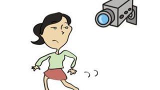 【謎動画】女性が死ぬ直前の監視カメラ映像が怖い・・・