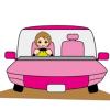 【画像】女ドライバー様、怒りの斜め45度駐車wwww