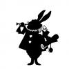 【不思議の国】暗い夜道でウサギがダンスしてたwwwwwwwww