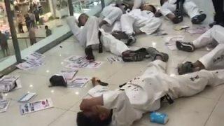【動画】中国武術家にフルボッコされたテコンドー師範 韓国側の言い訳w