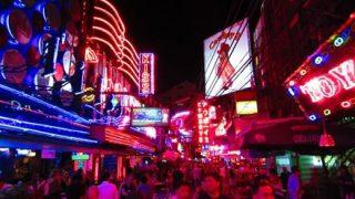 【逃げて!】身長2メートル超えの黒人さん、タイの夜を豪快に遊ぶwwwwww