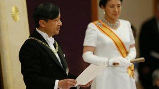 日本共産党「新天皇の即位に祝意を表する」