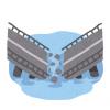 【恐ろしい…】中国の橋 映画みたいにぶっ壊れる衝撃映像 →GIfと動画