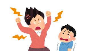 【体罰】子供を殴りつける母親がドラレコに映ってしまう →GIf動画