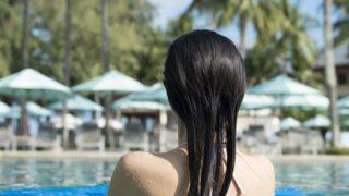 【悲報】女装したおっさん、プールでナンパされる →画像