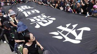 【香港デモ】共同通信のフェイクニュースに香港人活動家が憤慨
