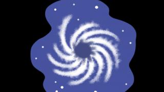 【画像】ブラックホールの想像図が怖すぎwwwwwwwww