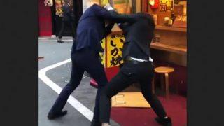 【動画】ホスト同士が殴り合いの喧嘩した結果wwwww