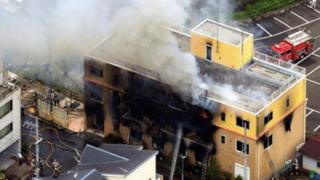 【2ch反応】京アニ放火 犯人は関東から来た前科者 更生保護施設から脱走か