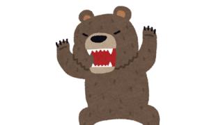 【衝撃映像】動物園の熊エリアに狼が侵入、一頭の狼がフルボッコに →GIfと動画