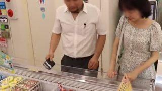 【動画像】韓国人男女がコンビニで商品のアイスに顔をつけるなど不衛生行為