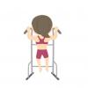 【筋トレ女子】上半身ハダカで懸垂する女の人の動画 めっちゃ再生される……