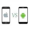 『iPhone』と『Android』を比較した風刺画 これどういう意味なんだろ?