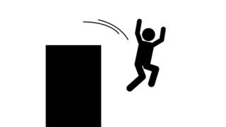 【悲報】母親が飛び降り、子供たちも続いて飛び降りる動画がヤバすぎる…