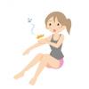 ロシア女性さん「蚊に刺されたww(パシャッ!」→ 画像