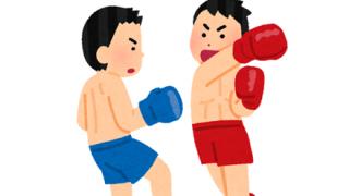 『60歳の元ボクシング世界王者』 VS. 『素人』