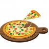 【画像】🍕ピザハットの『月見ピザ』が想像以上に月見だった件