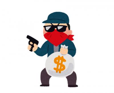 【防衛力】ショップ店員さん、来店した強盗をすぐに射殺し事なきを得る →GIFと動画