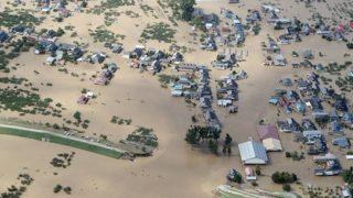 【台風19号】衛星「しきさい」から見た『土砂流出』の様子 →画像