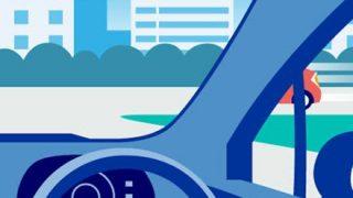 【発明】14歳少女が『車の死角』を無くす事に成功 画期的システムを開発 →動画像