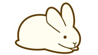 【オモシロ動画】尻尾をいじるとウンチを漏らすウサギがこちらw