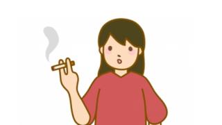 【悲報】中1女子がイキってタバコ吸うTik動画が出回る。