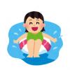 【gif】プールで迷惑すぎるま~んさん見つかる