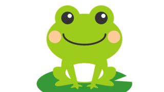 【画像】貫禄のあるカエルが見つかる