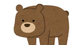 この熊の画像 どの順番で並べるのが正しいの?