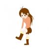 【画像】美少女さん、エッチッチなブーツを履いてしまうwwwww