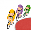 【画像】競輪女子のユニフォームが丸出しすぎると話題に